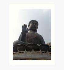 Full Frontal Buddha Art Print