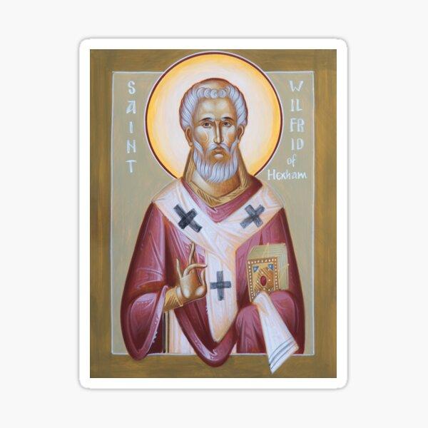 St Wilfrid of York (Hexham) Sticker