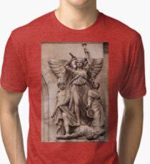 Sculptures At The Opera - 1 © Tri-blend T-Shirt