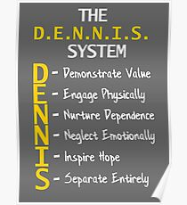 The D.E.N.N.I.S. System (Variant) Poster