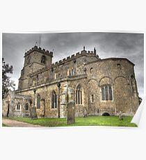Saxon Church  Poster
