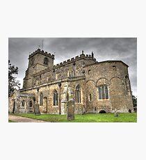Saxon Church  Photographic Print