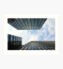 Lámina artística Blue Buildings