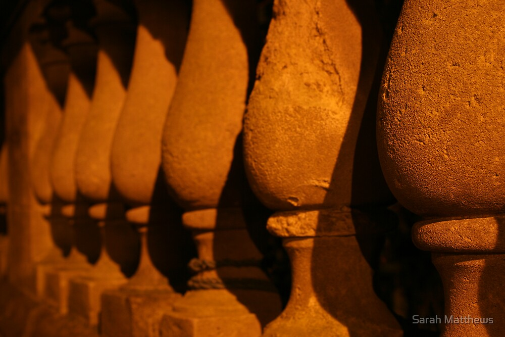 Stone Pillars by Sarah Matthews