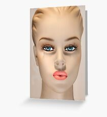 Mannequin 135b Greeting Card