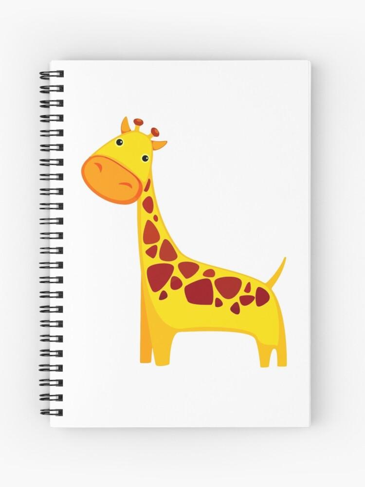 Cuaderno De Espiral Divertido De Dibujos Animados Amarillo Lindo
