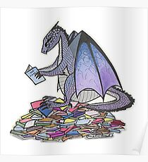 Book Dragon Poster