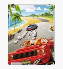 OUT RUN - CLASSIC FLYER iPad Case/Skin