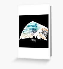 Chief Ainos Greeting Card