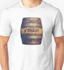 Rustic American Whiskey Barrel Unisex T-Shirt