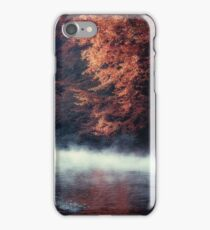 Nature*s Mirror - Fall at the River iPhone Case/Skin