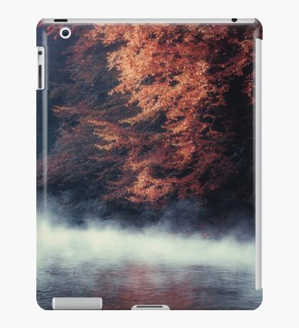 Nature*s Mirror - Fall at the River iPad Case/Skin