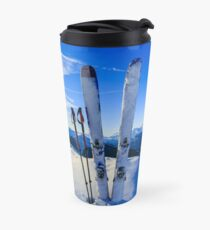 Ski Mountain Scene Travel Mug