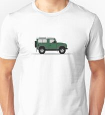A Graphical Interpretation of the Defender 90 Station Wagon NAS Unisex T-Shirt