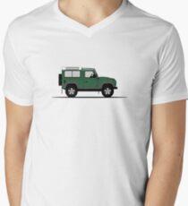 A Graphical Interpretation of the Defender 90 Station Wagon NAS Men's V-Neck T-Shirt