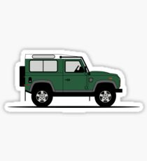 A Graphical Interpretation of the Defender 90 Station Wagon NAS Sticker