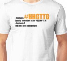 example(2) Unisex T-Shirt