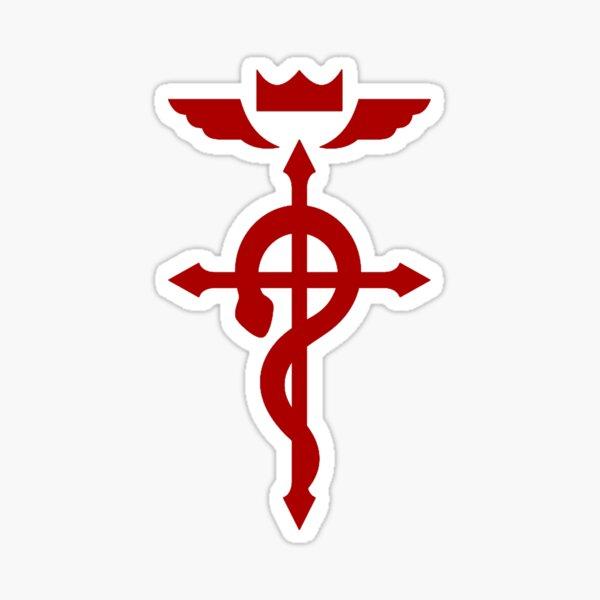 Fullmetal Alchemist Flamel Logo Sticker