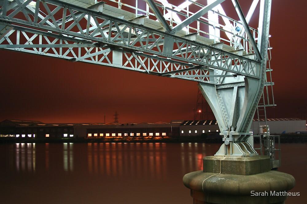 View from Transporter Bridge by Sarah Matthews