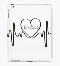 Fandom ❤️ iPad Case/Skin