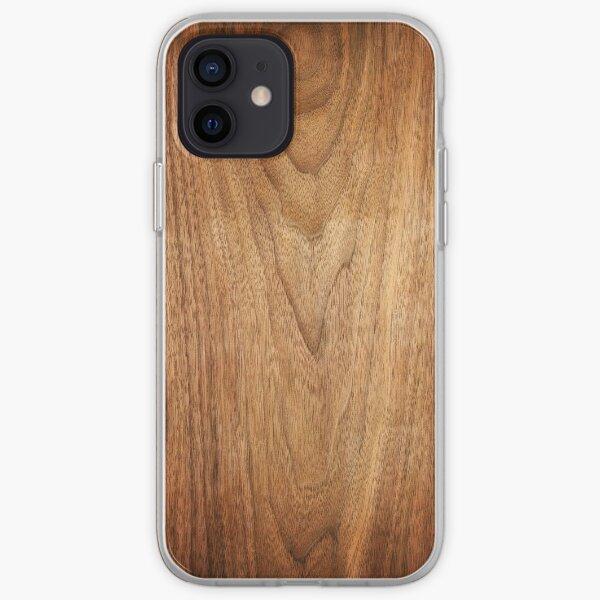 Wood Wooden design iPhone Soft Case