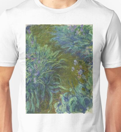 Claude Monet - Irises Unisex T-Shirt