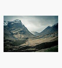 Scottish Highlands Photographic Print