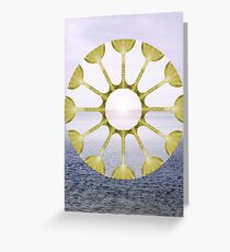 12 of Cups Greeting Card