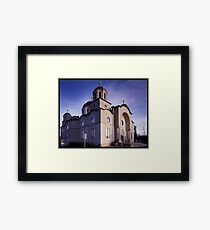 Lebonese Church Framed Print