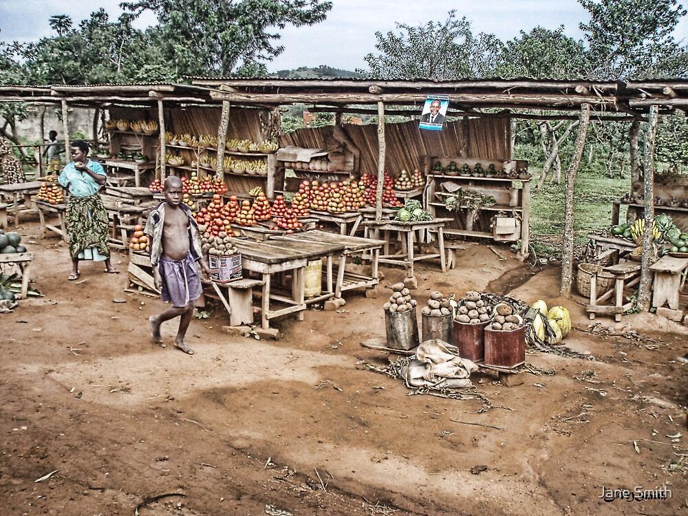 Ugandan Market by Jane Smith