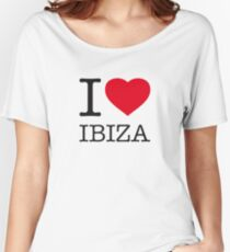 I ♥ IBIZA Women's Relaxed Fit T-Shirt