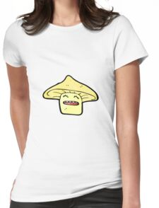 toadstool cartoon  Womens Fitted T-Shirt