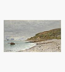 Claude Monet - La Pointe De La Heve, Sainte-Adresse Photographic Print