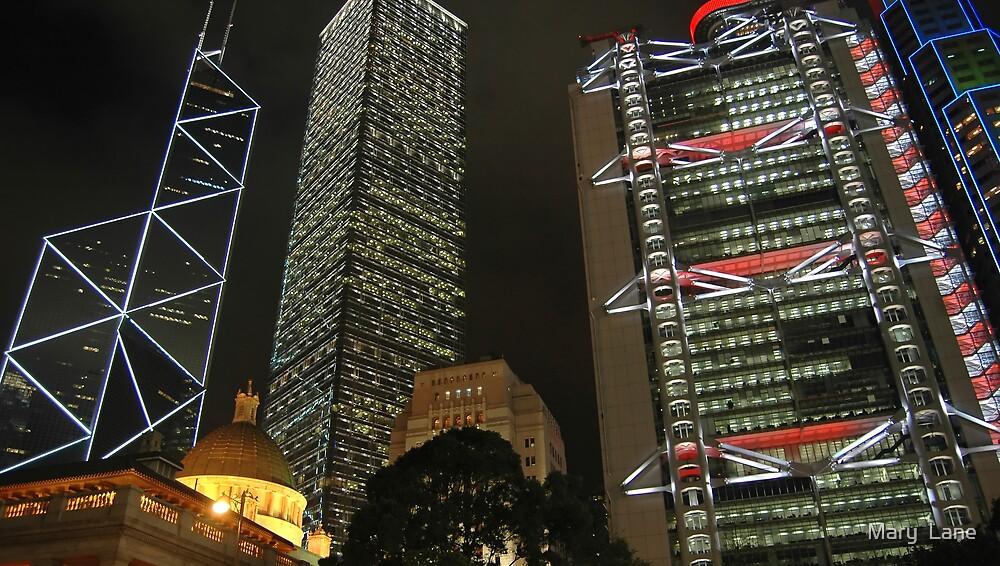 Hong Kong Nights by Mary  Lane