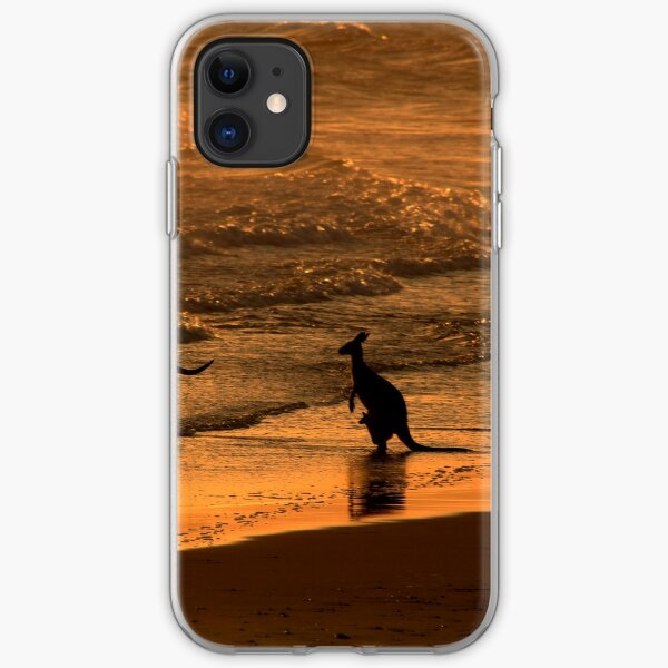 Having a dip at 5.30am iPhone Soft Case