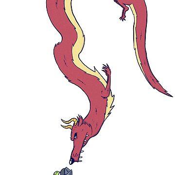 Dragon & Knight by MrBradd