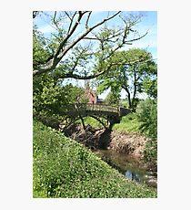 Cast iron bridge Photographic Print