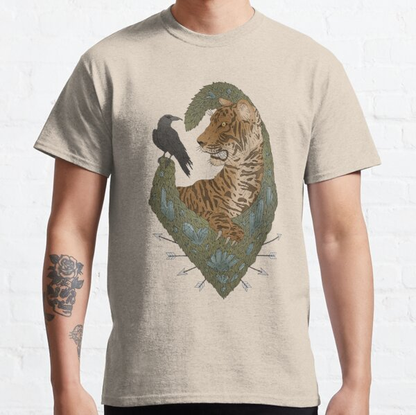 TIGER AND THE CROW - DULL Classic T-Shirt