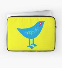 BOWIE BIRD - SPARROW WITH ZIGGY LIGHTNING BOLT Laptop Sleeve