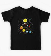 Sonnensystem Kinder T-Shirt