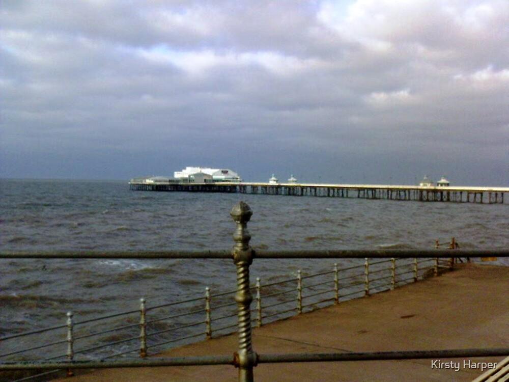 Blackpool Pier by Kirsty Harper