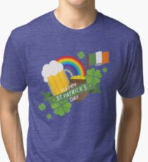 Happy Saint Patrick's Day Tri-blend T-Shirt