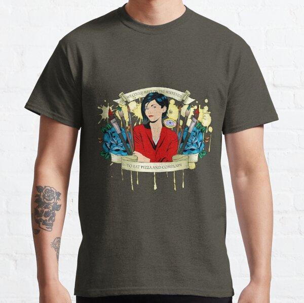 Jane Lane - Weekends Pizza Classic T-Shirt