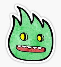 cartoon little furry creature Sticker