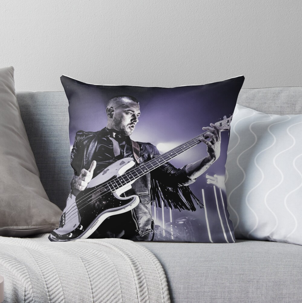 Matt Willis Busted, Live @ The Portsmouth Guildhall 2017 A Throw Pillow