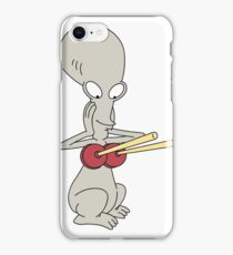 Roger plunger boobs iPhone Case/Skin