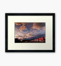 Rail Yard  Framed Print
