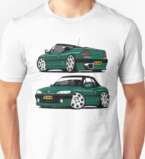 Peugeot 306 Cabriolet caricature personalized for Graham Unisex T-Shirt