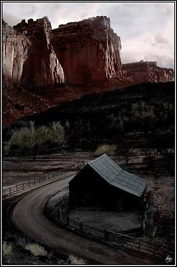 Canyonlands Barn by Wayne King