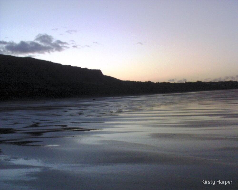 Hunmanby Beach by Kirsty Harper